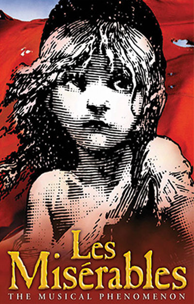 Les Miserables presented by Broadway in Tucson from September 4 - September 9, 2018