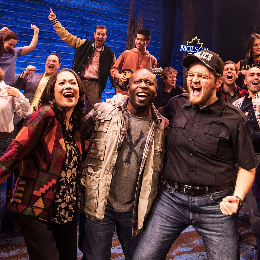 Come from away cast singing