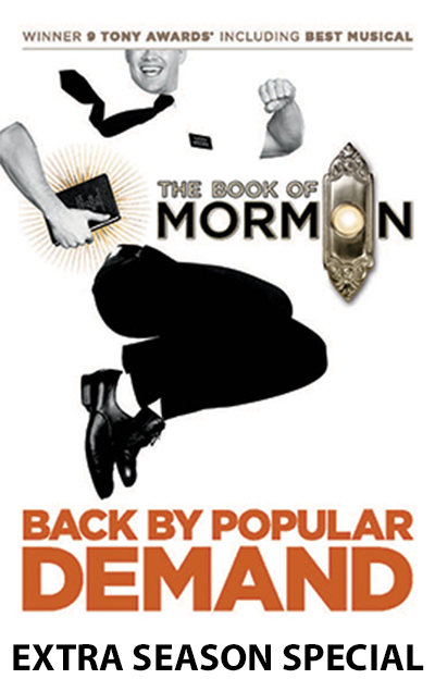 The Book of Mormon Back By Popular Demand promo poster