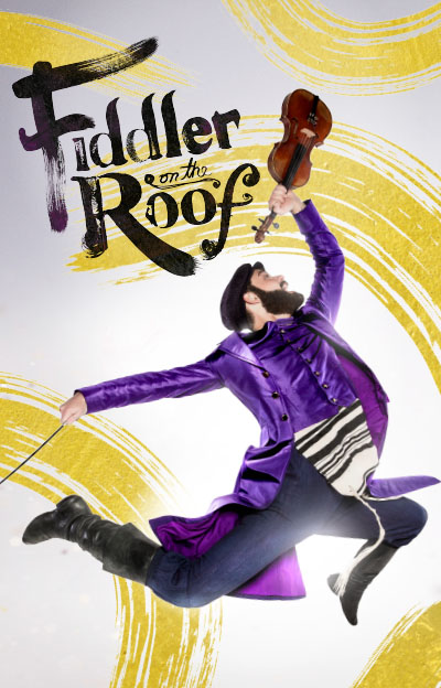 Fiddler on the Roof Violinist jumping