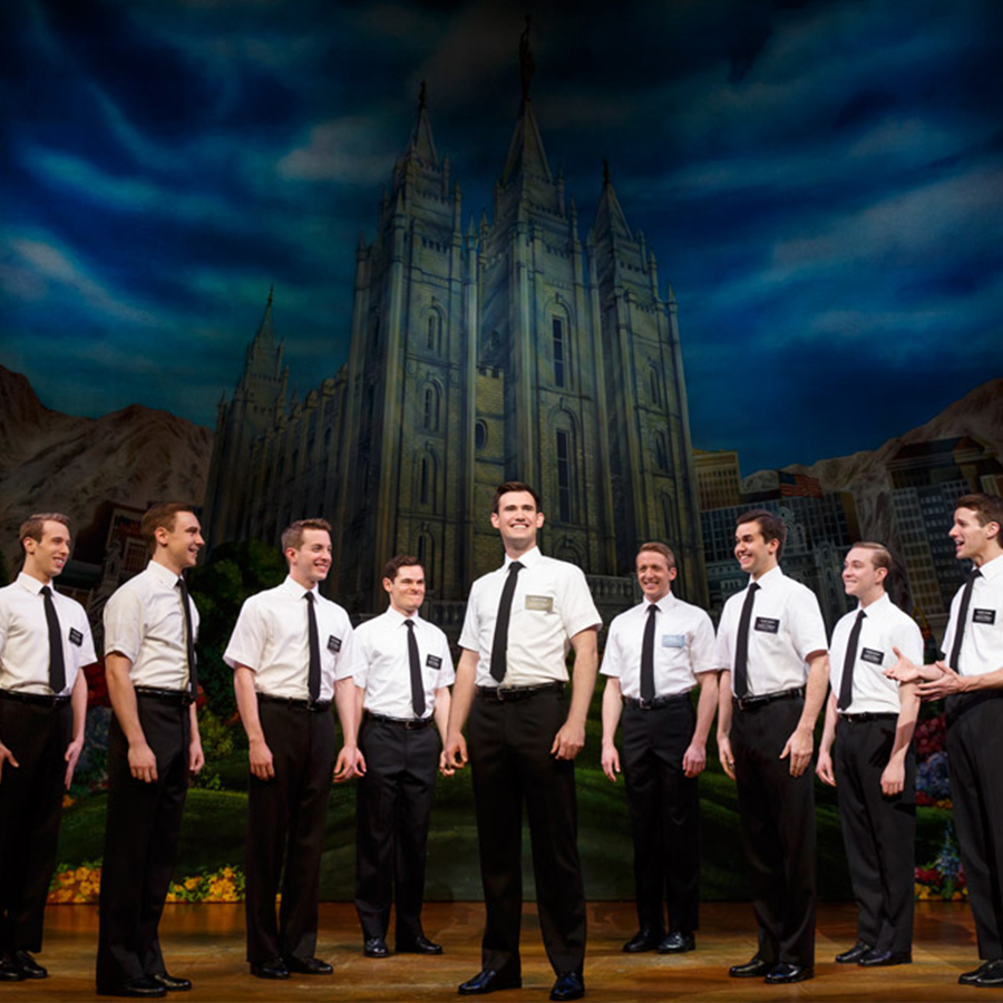 Cast of The Book of Mormon