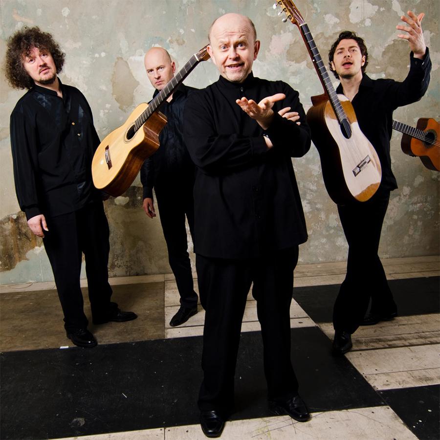 European Guitar Quartet performers