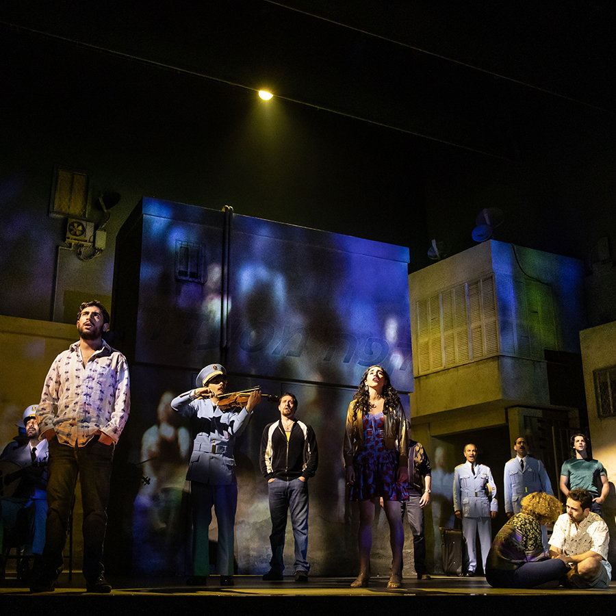 Cast from Come From Away